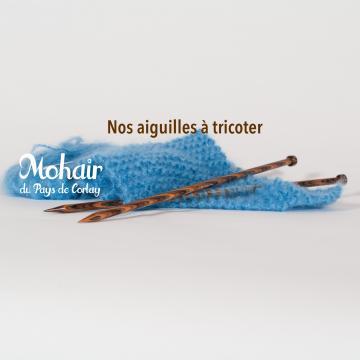 Nos aiguilles à tricoter