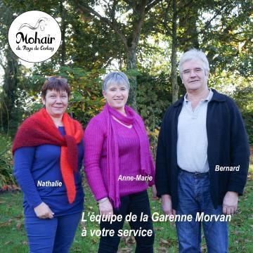 L'équipe Mohair du Pays de Corlay