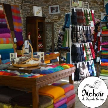 Boutique Mohair du Pays de Corlay Mohair de nos chèvres
