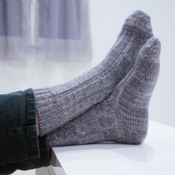 Chaussettes très chaudes en mohair et laine spéciales grand froid