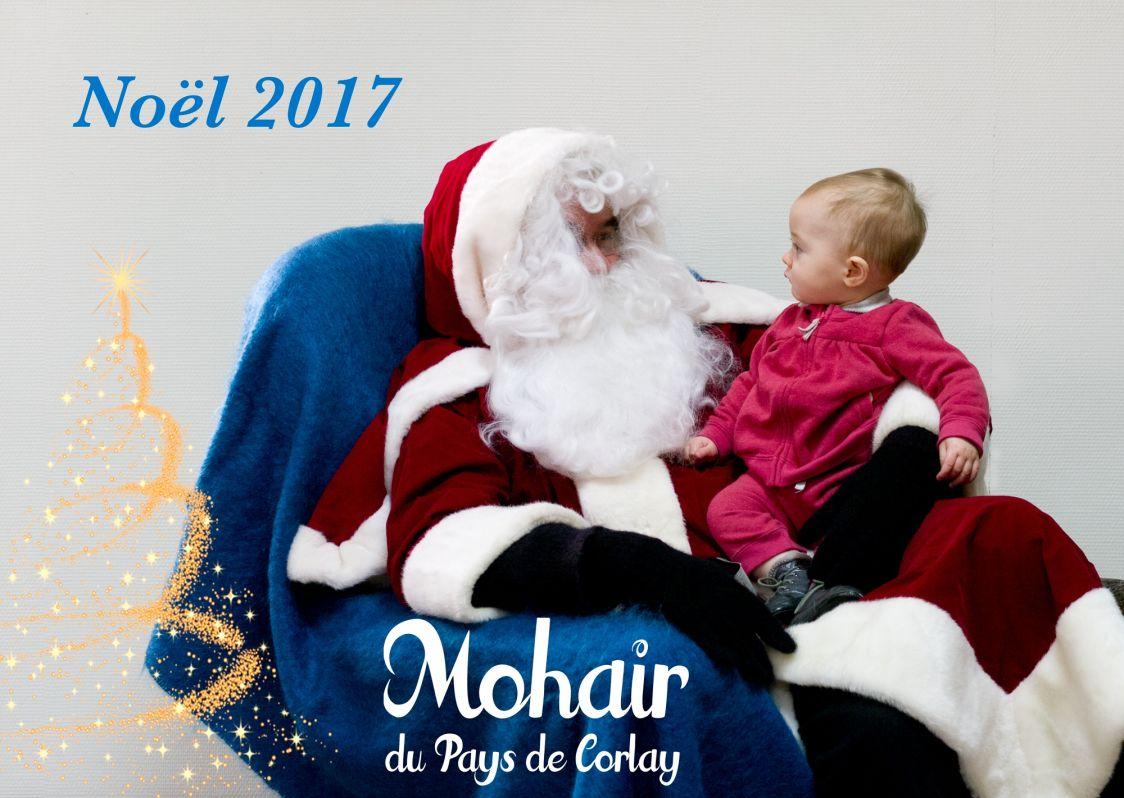Noël en Mohair sélection tissés et tricotés