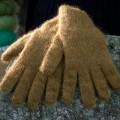 Gants mohair et soie fil triple