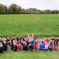 Notre ferme avec groupe en pédagogique