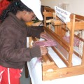 Le tissage, première approche du métier à tisser
