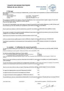 Charte du seau de garantie: