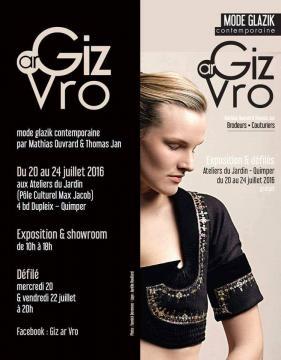 Défilé de mode Giz ar Vro à Quimper