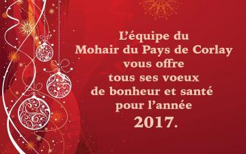 Voeux 2017 Mohair du Pays de Corlay